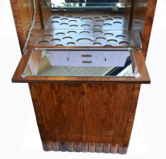 1930s Art Deco Fitted Walnut Cocktail Cabinet - 962030