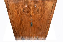 1930s Art Deco Fitted Walnut Cocktail Cabinet - 962034