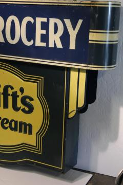 1930s Double Sided Swifts Ice Cream Sign - 1368702