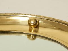 1930s English Brass Port Hole Mirror - 662729