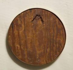 1930s English Brass Port Hole Mirror - 662730