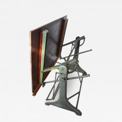 1930s Franz Kuhlmann Cast Iron Adjustable Drafting Table   505076