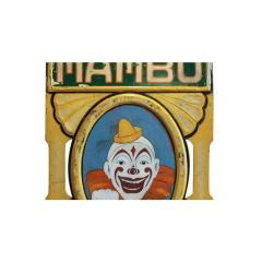 1930s Hand Painted Carnival Ride Panel - 1362966