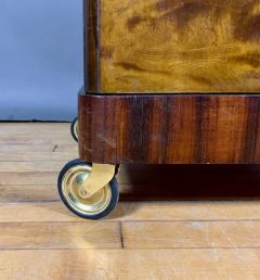 1930s Rootwood Rosewood Bar Cabinet With Intarsia - 1410744