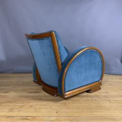 1930s Swedish Elmwood Art Deco Lounge Chair - 1410773