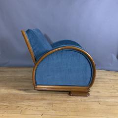 1930s Swedish Elmwood Art Deco Lounge Chair - 1410775