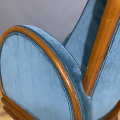 1930s Swedish Elmwood Art Deco Lounge Chair - 1410781