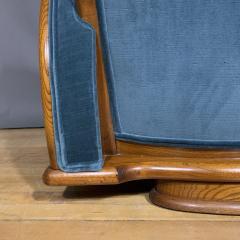 1930s Swedish Elmwood Art Deco Lounge Chair - 1410786