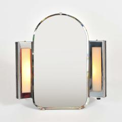 1930s US Art Deco illuminated dressing table mirror - 1223474