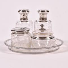 1930s fine French dressing table set - 910746