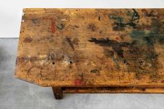 1940S FRENCH INDUSTRIAL WORKBENCH - 1842852