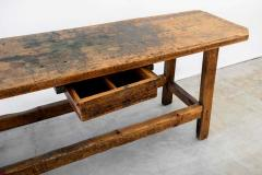1940S FRENCH INDUSTRIAL WORKBENCH - 1842861