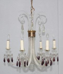 1940s Cut Glass French Chandelier - 1806161