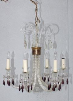 1940s Cut Glass French Chandelier - 1806162