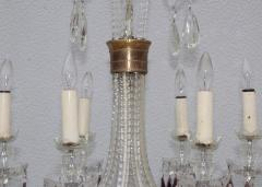 1940s Cut Glass French Chandelier - 1806165