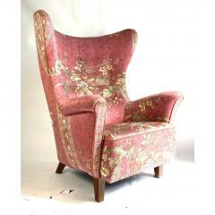 1940s Danish Wingback Chair - 1692142