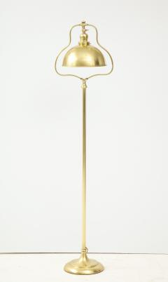 1940s French Brass Floor Lamp - 1866738