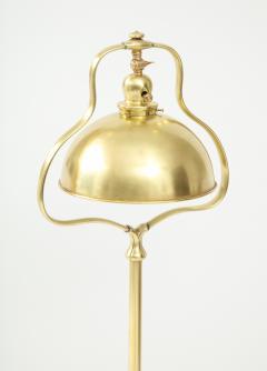 1940s French Brass Floor Lamp - 1866742