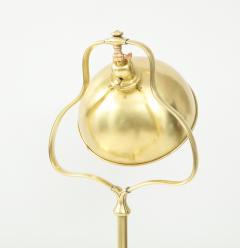 1940s French Brass Floor Lamp - 1866748