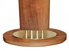 1940s Wood and Brass Lamps - 1704604
