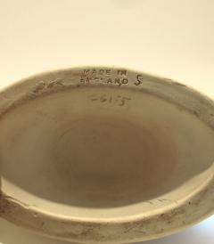1950s Fulham Pottery Napoleon hat vase - 1240548