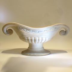 1950s Fulham Pottery Napoleon hat vase - 1240549