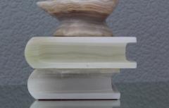 1950s Italian Alabaster Owl Sculpture - 768017