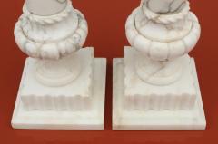 1950s Italian Carrara Marble Table Lamps - 2132138