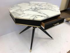 1950s Italian Marble Top Centre Table - 615814