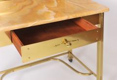 1950s Italian Marble and Brass Dressing Table - 685081