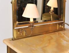 1950s Italian Marble and Brass Dressing Table - 685084