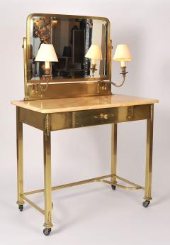 1950s Italian Marble and Brass Dressing Table - 685086