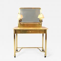 1950s Italian Marble and Brass Dressing Table - 686215
