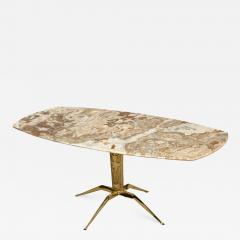 1950s Italian Spider Brass Base With Onyx Top Coffee Table - 1262758