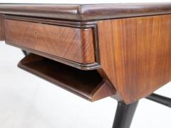 1950s Italian Wood and Lacquered Wood Writing Desk - 1582777