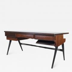 1950s Italian Wood and Lacquered Wood Writing Desk - 1582905