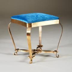 1950s Italian brass stool - 1894854