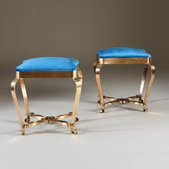 1950s Italian brass stool - 1894860