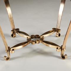 1950s Italian brass stool - 1894862