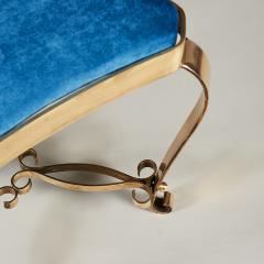 1950s Italian brass stool - 1894864