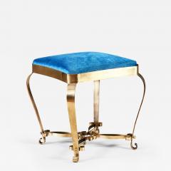 1950s Italian brass stool - 1898910