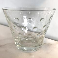 1950s Scandinavian clear glass vase - 1323619