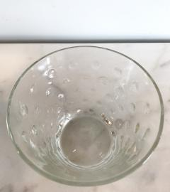 1950s Scandinavian clear glass vase - 1323620