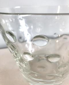 1950s Scandinavian clear glass vase - 1323621