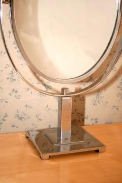 1950s US oval table mirror - 1223510