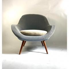1950s Vintage Scandinavian Lounge Chair - 1703930