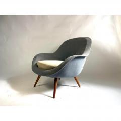 1950s Vintage Scandinavian Lounge Chair - 1703931