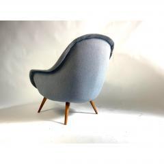 1950s Vintage Scandinavian Lounge Chair - 1703933