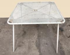 1950s perforated sheet metal furniture in the style of Mathieu Mat got - 1201492