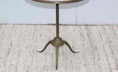 1960s Brass And Carrara Marble 3 Tier Display Shelf - 1943120